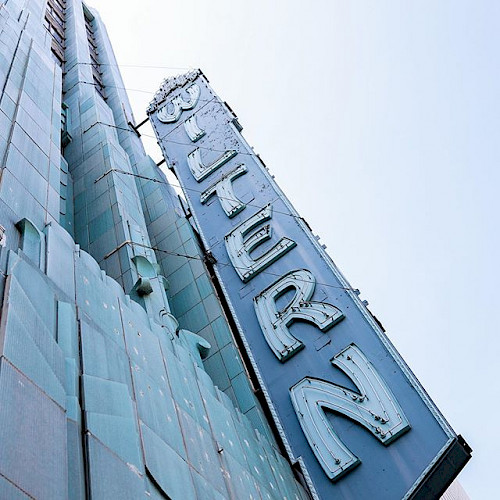 Wiltern Theatre sign